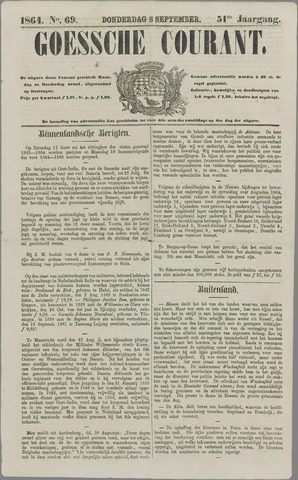 Goessche Courant 1864-09-08