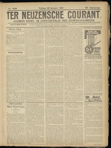 Ter Neuzensche Courant. Algemeen Nieuws- en Advertentieblad voor Zeeuwsch-Vlaanderen / Neuzensche Courant ... (idem) / (Algemeen) nieuws en advertentieblad voor Zeeuwsch-Vlaanderen 1929-01-25