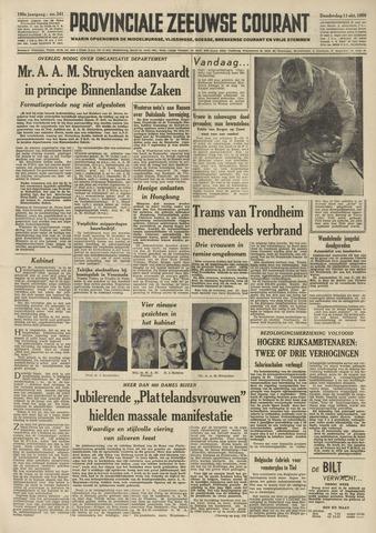 Provinciale Zeeuwse Courant 1956-10-11