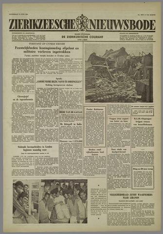 Zierikzeesche Nieuwsbode 1958-06-12