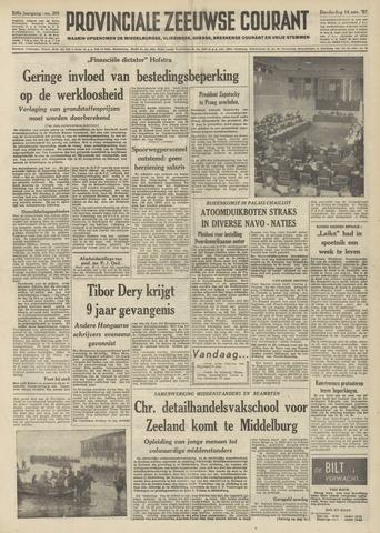 Provinciale Zeeuwse Courant 1957-11-14