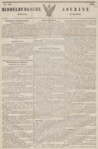 Middelburgsche Courant 1850-12-12