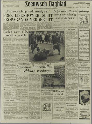 Zeeuwsch Dagblad 1960-09-23