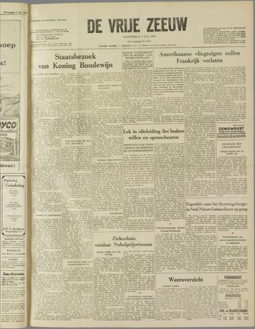 de Vrije Zeeuw 1959-07-09