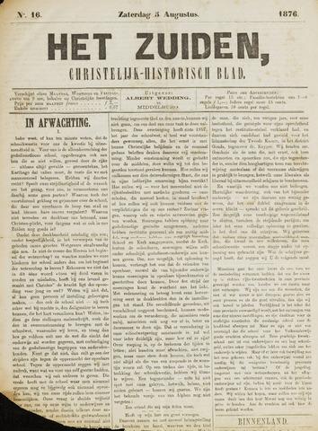 Het Zuiden, Christelijk-historisch blad 1876-08-05