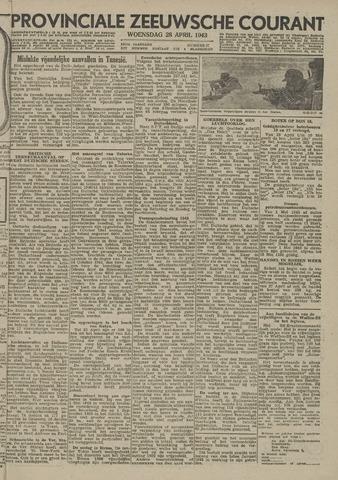 Provinciale Zeeuwse Courant 1943-04-28