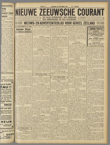 Nieuwe Zeeuwsche Courant 1931-09-26