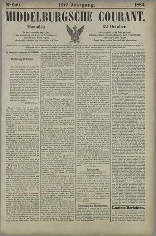 Middelburgsche Courant 1883-10-22