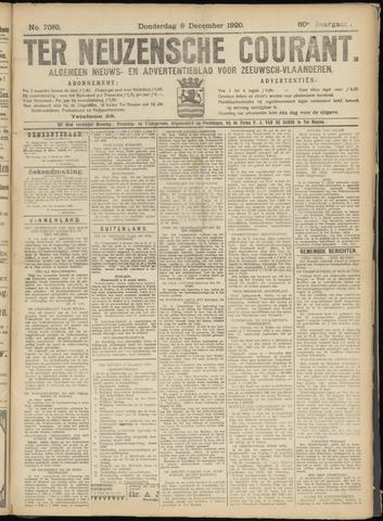 Ter Neuzensche Courant. Algemeen Nieuws- en Advertentieblad voor Zeeuwsch-Vlaanderen / Neuzensche Courant ... (idem) / (Algemeen) nieuws en advertentieblad voor Zeeuwsch-Vlaanderen 1920-12-09