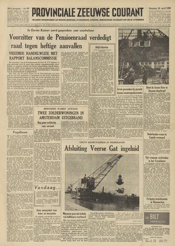 Provinciale Zeeuwse Courant 1958-04-22