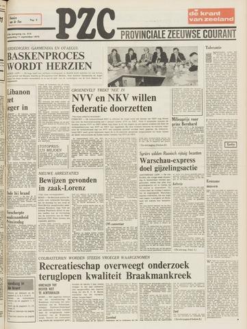 Provinciale Zeeuwse Courant 1975-09-11