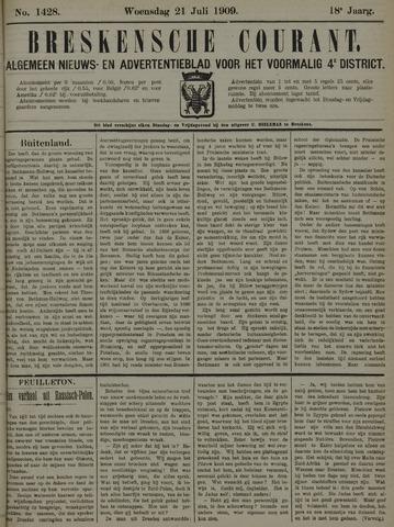 Breskensche Courant 1909-07-21