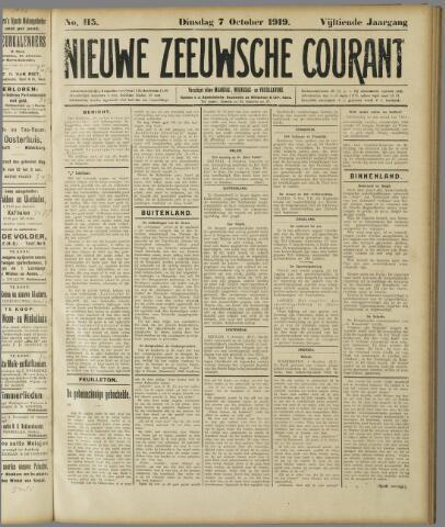 Nieuwe Zeeuwsche Courant 1919-10-07
