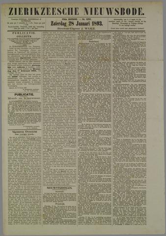 Zierikzeesche Nieuwsbode 1893-01-28