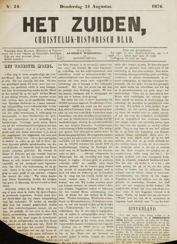 Het Zuiden, Christelijk-historisch blad 1876-08-24