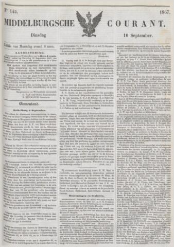 Middelburgsche Courant 1867-09-10
