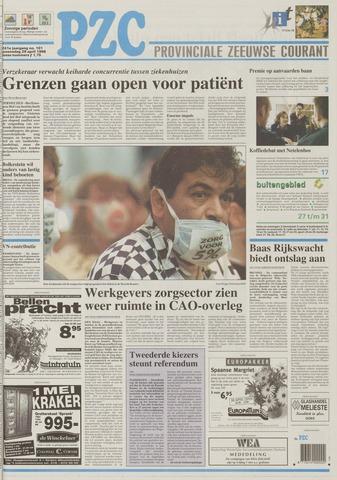Provinciale Zeeuwse Courant 1998-04-29