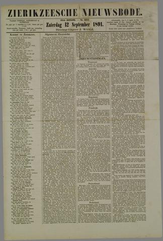 Zierikzeesche Nieuwsbode 1891-09-12