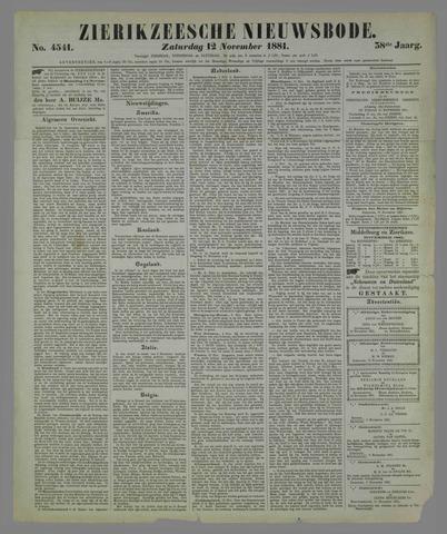 Zierikzeesche Nieuwsbode 1881-11-12