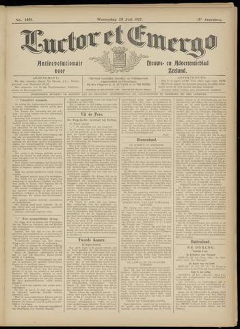Luctor et Emergo. Antirevolutionair nieuws- en advertentieblad voor Zeeland / Zeeuwsch-Vlaanderen. Orgaan ter verspreiding van de christelijke beginselen in Zeeuwsch-Vlaanderen 1917-07-25