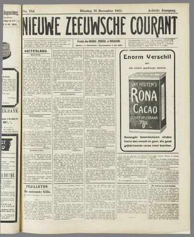 Nieuwe Zeeuwsche Courant 1912-12-31
