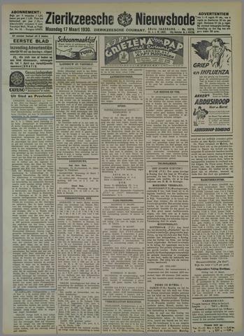 Zierikzeesche Nieuwsbode 1930-03-17