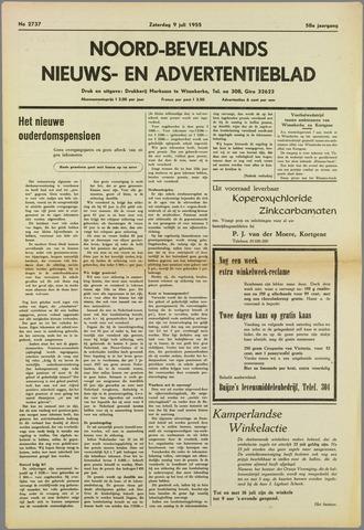 Noord-Bevelands Nieuws- en advertentieblad 1955-07-09
