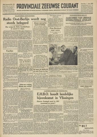 Provinciale Zeeuwse Courant 1952-06-07