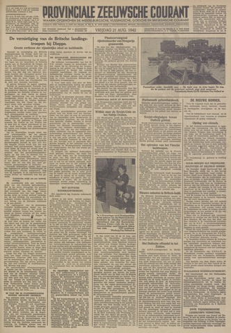 Provinciale Zeeuwse Courant 1942-08-21