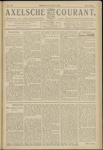 Axelsche Courant 1941-07-29
