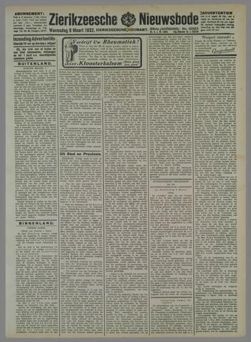 Zierikzeesche Nieuwsbode 1932-03-09