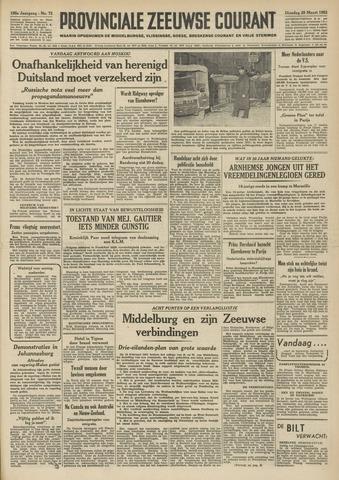 Provinciale Zeeuwse Courant 1952-03-25