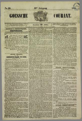 Goessche Courant 1855-04-23