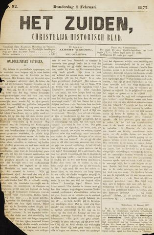 Het Zuiden, Christelijk-historisch blad 1877-02-01
