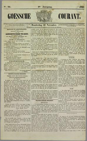 Goessche Courant 1861-11-21