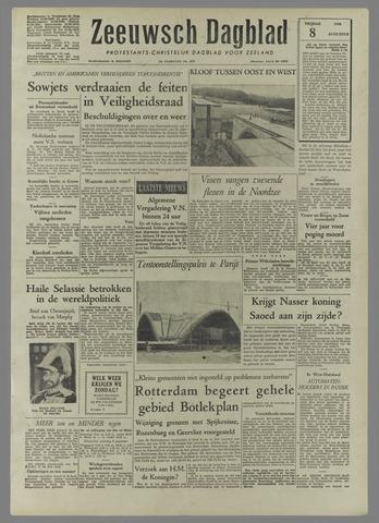 Zeeuwsch Dagblad 1958-08-08