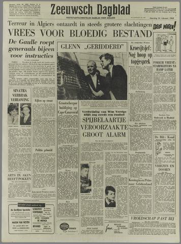 Zeeuwsch Dagblad 1962-02-24