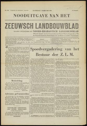 Zeeuwsch landbouwblad ... ZLM land- en tuinbouwblad 1953-02-07