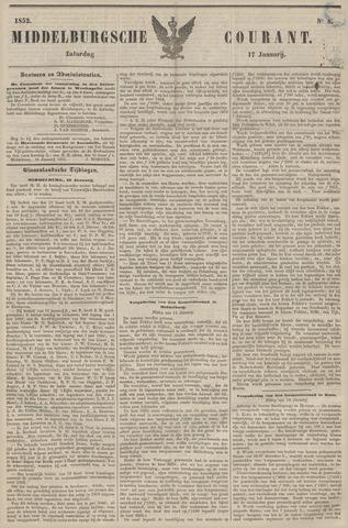 Middelburgsche Courant 1852-01-17