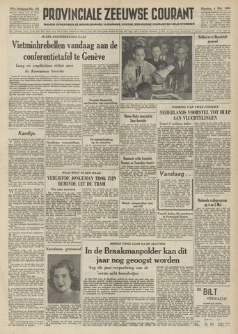 Provinciale Zeeuwse Courant 1954-05-04