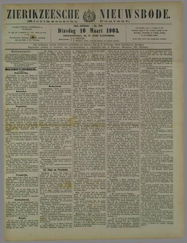 Zierikzeesche Nieuwsbode 1903-03-10