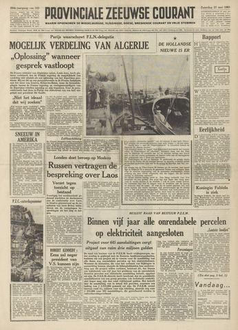 Provinciale Zeeuwse Courant 1961-05-27