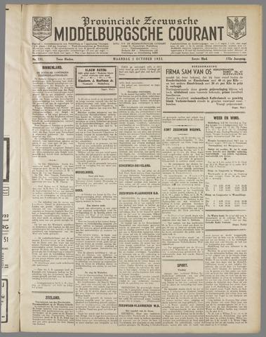 Middelburgsche Courant 1932-10-03
