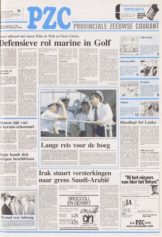 Provinciale Zeeuwse Courant 1990-08-14