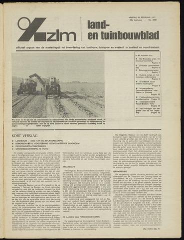 Zeeuwsch landbouwblad ... ZLM land- en tuinbouwblad 1971-02-12