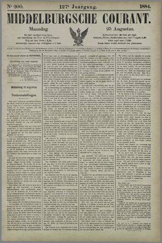 Middelburgsche Courant 1884-08-25