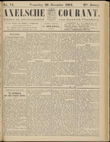 Axelsche Courant 1911-12-20