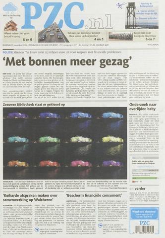 Provinciale Zeeuwse Courant 2009-11-17