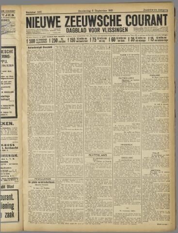 Nieuwe Zeeuwsche Courant 1921-09-08
