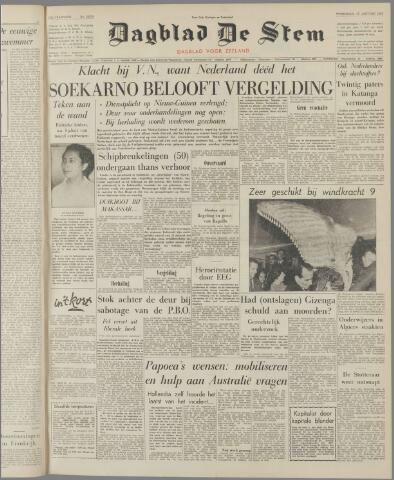 de Stem 1962-01-17